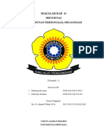Penyusunan Personalia Organisasi 2003