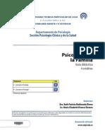 Psicología de La Familia - Guía Didáctica