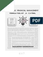 Strategic Financial Management Formula Kit