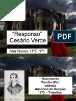 Cesário Verde - Responso