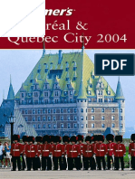 Wiley, Frommer's Montreal and Quebec City (2004)