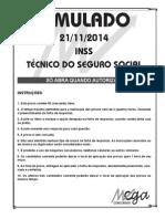 Inss Simulado 21-11-14