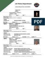 public arrest report for 12jun2015