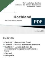 Hochland - proiect