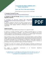 2015 - 1er Cuat - Inscripción Electivas Otras Carreras
