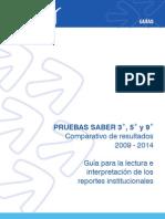 PRUEBAS SABER 3 5 y 9  Comparativo de resultados 2009 - 2014 v3.pdf