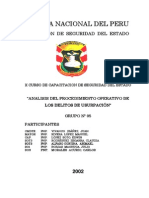Procedimiento Operativo en El Delito de Usurpacion - PNP