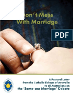 Don't Mess With Marriage