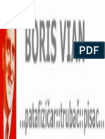 Boris Vian - Vadisrce