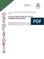 150612 CV- Constitucion de La Nueva Corporación