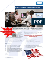 USA Cutter Suction Dredger Simulator Training