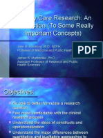 Primary Care Research 2010