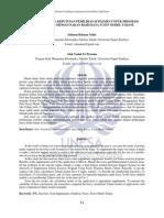 158355732 Sistem Pendukung Keputusan Pemilihan Suplemen Untuk Program Latihan Fitnes Menggunakan Basis Data Fuzzy Model Tahani
