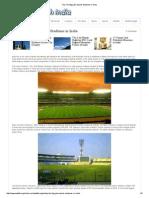 Top Ten Biggest Sports Stadiums in India