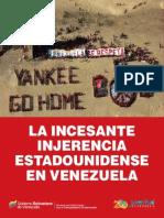 Injerencia de Usa en Venezuela