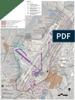 Norfolk Airport Runway Proposal Map