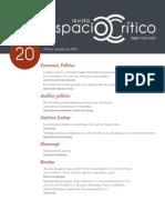 Revista Espacio Crítico N° 20
