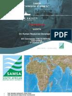 SASSETA - Maritime Skills Development Presentation 5 July 2011