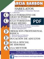 Oferta formativa IES García Barbón