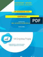 1.- MEP Constitucion y Formalizacion