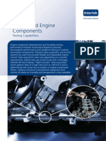 Engine and Engine Component Testing Brochure