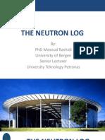 The Neutron Log