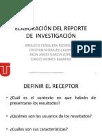 Capt. 11 Elaboración Del Reporte