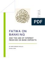 Fatwa on Banking