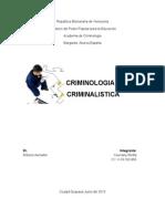 Trabajo Criminalistica