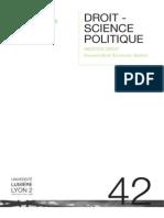 PDF Lic Droit Science Politique