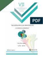 Invitacion VII Foro Latinoamericano de Banca Comunal
