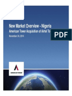 New Market Overview - Nigeria
