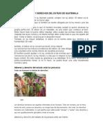 Deberes y Derechos Del Estado de Guatemala