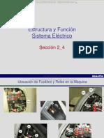 Curso Estructura Funcion Sistema Electrico Retroexcavadora Wb146 5 Komatsu