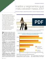 Los Mercados y Segmentos Que MaEs CreceraEn Hasta 2017