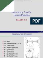 Curso Estructura Funcion Tren Potencia Retroexcavadora Wb146 5 Komatsu