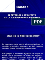 El Petróleo y Su Impacto en La Macroeconomia Boliviana