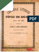 Cantarile Liturghiei cor mixt Ioana Ghika - Comanesti.pdf