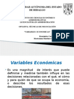 Variables Economicas