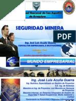 Curso Seguridad Minera Riesgos Sistemas Excavaciones Maquinaria Pesada