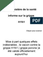 Le Ministère de La Santé Informe Sur