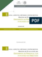 Etapas Instrumentos Evaluacion Permanencia Directivos