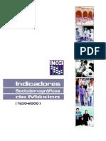INEGI - Indicadores Sociodemográficos de México (1930-2000)