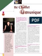 Jacotte Chollet La Musique