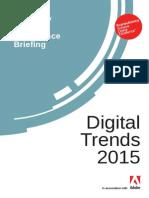 Adobe Digital Trends Report 2015