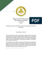 Anotaciones Teoricas y Prcacticas Acerca de La Poltica Monetaria en Nicaragua