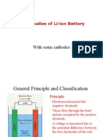 Li Ion Battery Characterization