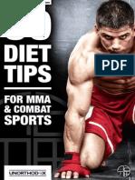 50 Consejos de Dieta Para MMA Alba