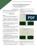 DC-DC Converter Simulation