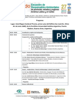 Programa - 2do Encuentro de Responsables